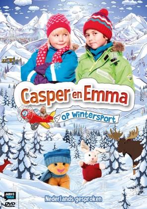 Casper en Emma op wintersport