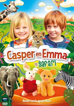 dvd casper en emma op safari