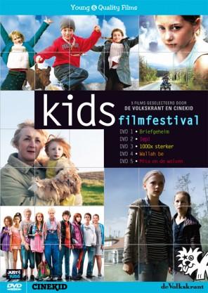 Volkskrant Cinekid dvd box kids