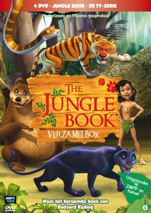 Jungle Book verzamlebox (4 dvd's)