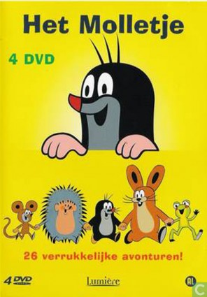 Molletje 4-dvd box