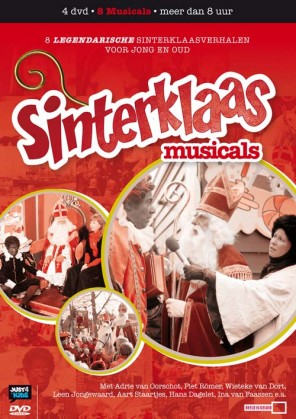 Sinterklaas musicals dvd  sinterklaasmusicals