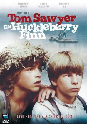 Tom Sawyer en Huckleberry Finn (DVD Box) De complete 26-delige serie