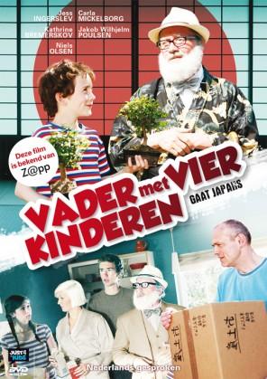 dvd film vader met vier kinderen